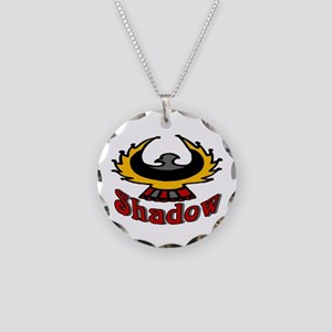 Eagle Shadow Necklace Circle Charm