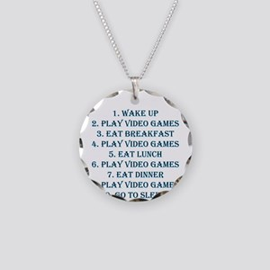 Perfect day Necklace Circle Charm