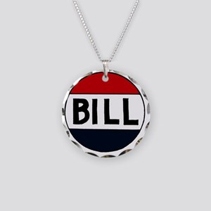 SHR Bill Necklace Circle Charm