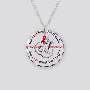 The Clot must be fought Necklace Circle Charm