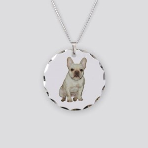French Bulldog (#1) Necklace Circle Charm