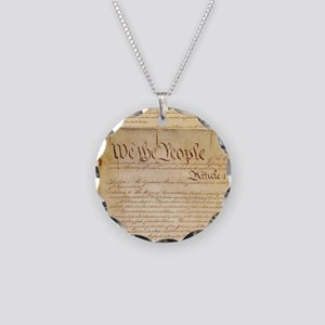 US CONSTITUTION Necklace
