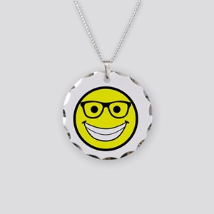 Happy Fosser Necklace Circle Charm