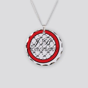 JR couture Necklace Circle Charm