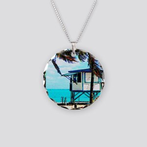 lifeguard_tower copy Necklace Circle Charm