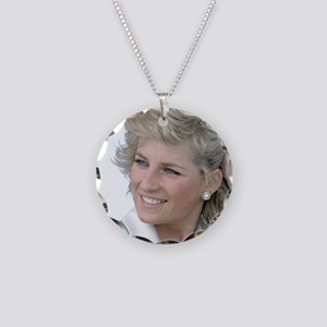 HRH Princess Diana Australia Necklace Circle Charm