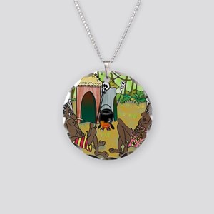 2-7713_anthropology_cartoon Necklace Circle Charm