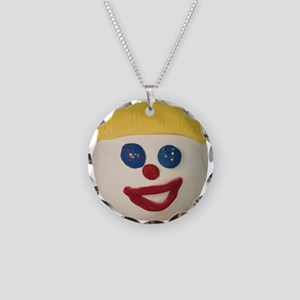 Oh No Mr. Bill Necklace Circle Charm