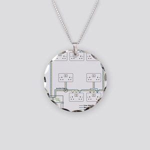 Electrical Circuit Necklace