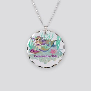 Cute Personalized Mermaid Necklace
