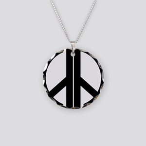 AA Peace Symbol Necklace