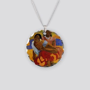 Paul Gauguin Married Necklace Circle Charm