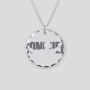 Conquer Necklace Circle Charm