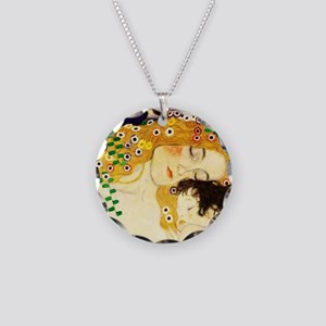 Gustav Klimt Mother and Child Necklace