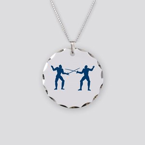 Men Fencing Necklace