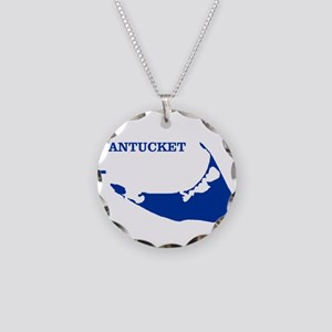Nantucket Island - Blue Necklace