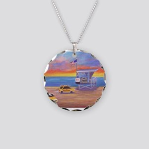 Redondo Beach Lifeguard Tower Necklace