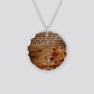 What Really Counts - John F Kennedy Necklace Circl