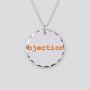 Objection Necklace Circle Charm