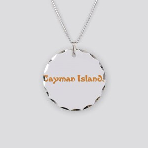 Cayman Islands Necklace Circle Charm