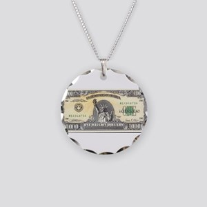 Million Dollar Necklace Circle Charm