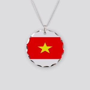 Vietnamblank Necklace Circle Charm
