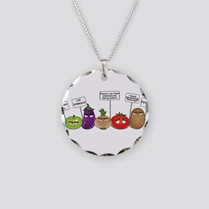 Plants Tho Necklace Circle Charm