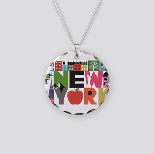 Unique New York - Block by B Necklace Circle Charm