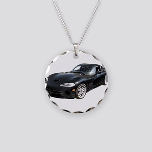 1999 Dodge Viper GTS ACR Necklace Circle Charm