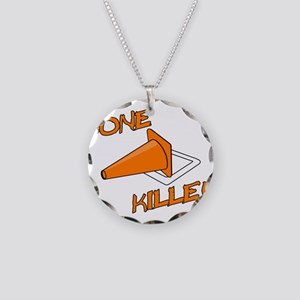Cone Killer Necklace Circle Charm