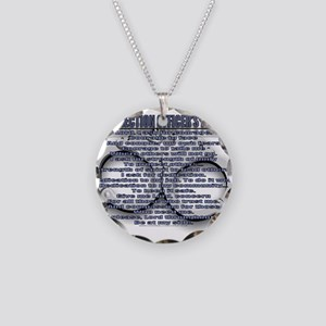 CORRECTION'S OFFICER PRAYER Necklace Circle Charm