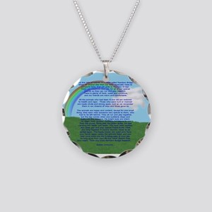 RainbowBridge2 Necklace Circle Charm