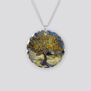 Van Gogh Mulberry Tree Necklace