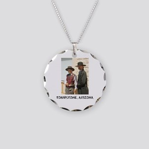 wyattanddocshirt Necklace Circle Charm