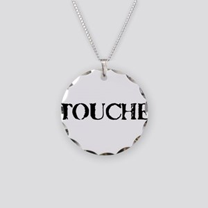 Touche Necklace Circle Charm