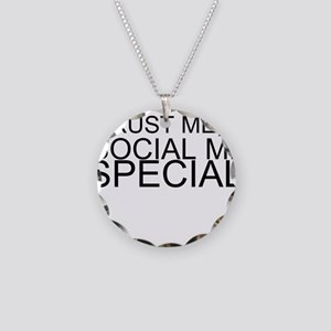 Trust Me, I'm A Social Media Specialist Necklace