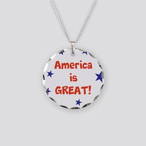 America is great Necklace