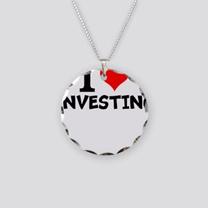 I Love Investing Necklace