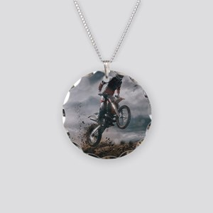 Motocross Rider Necklace