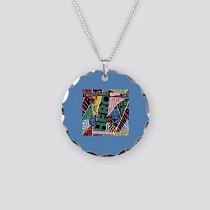 Avengers Torn Panels Necklace Circle Charm