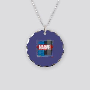 Marvel Avengers List Necklace Circle Charm