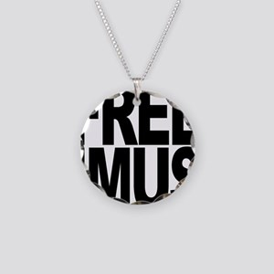 Free Imus Necklace Circle Charm