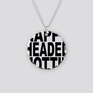 Nappy Headed Hottie Necklace Circle Charm