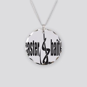 Master Baiter Necklace Circle Charm