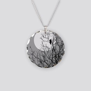 BRANCHES Necklace Circle Charm