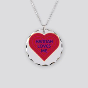 Girl Name Hannah Necklaces - CafePress