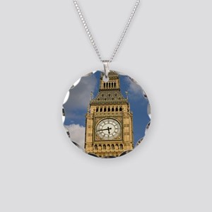 BIG BEN Necklace Circle Charm