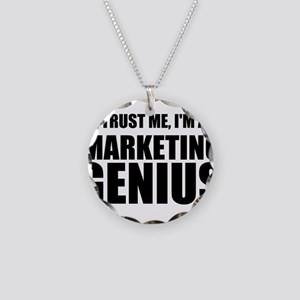 Trust Me, I'm A Marketing Genius Necklace