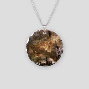 CARLSBAD CAVERNS Necklace Circle Charm