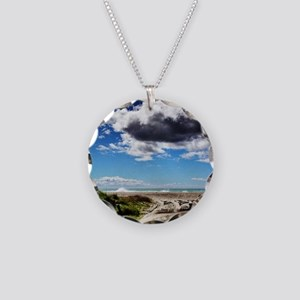 Beautiful New Zealand – Beac Necklace Circle Charm